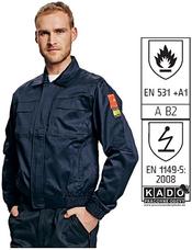 Cerva COEN sötétkék kabát - 54