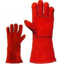 EP 2631 Szikraálló marha hasíték kesztyű piros 10