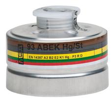 MSA 93 gázszűrő ABEK2-Hg/St