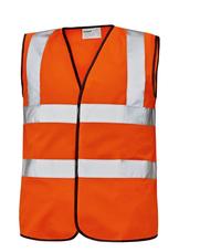LYNX Plus jól láthatósági mellény - Narancs (XL)