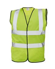 LYNX Plus jól láthatósági mellény - Sárga (XL)