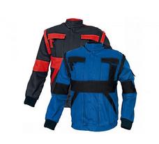 Cerva Max kabát (fekete-kék színben) - 56