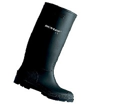 Dunlop Pricemastor Fekete gumicsizma - 48